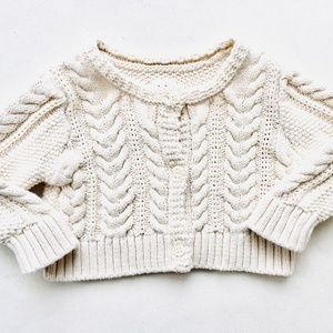 PM Editor Pick💋Baby Gap Cable Knit Cardigan